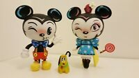Disney Showcase Collection World Of Miss Mindy MICKEY & MINNIE MOUSE (Loose)