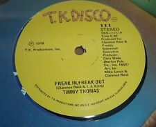 TIMMY THOMAS Freak In, Freak Out / Say Love, Can you Chase Away My Blues? SEALED