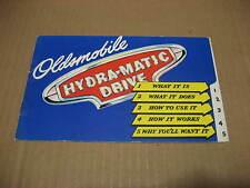 1946 Oldsmobile Hydra-Matic Drive Brochure