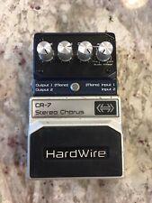 Digitech CR-7 Hardwire Stereo Digital Chorus 7-Modes Guitar Effect Pedal