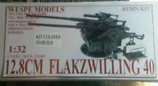Wespe models 1/32 12.8 cm flackwilling 40