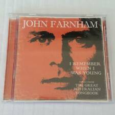 John Farham - I Remember When I Was Young : Songs From Australian Songbook CD