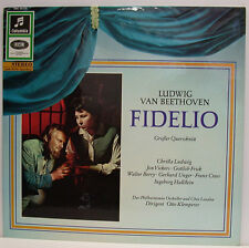 """Beethoven Fidelio LUDWIG VICKERS FRICK BERRY Unger Otto Klemperer 12 """" LP (E841)"""