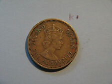 1965,  five cents, Eastern Caribbean, British Caribbean Territories