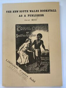 The New South Wales Bookstall As A Publisher Carol Mills Paperback Book 1991