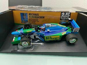 Benetton Ford B194 Schumacher World Champion 1994 Australia GP in 1:18
