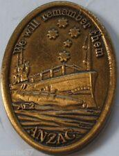 Australian Gallipoli WW1 Centenary AE 2 Sub Badge