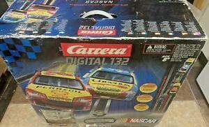 Carrera Digital 132 Nascar Race Set Model 30123 Read Desc. See Pics. Dmg Pcs