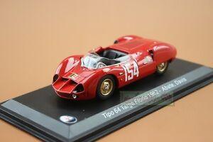 1/43 MASERATI Tipo 64 Targa Florio 1962 Abate Davis #154 LEO MODELS