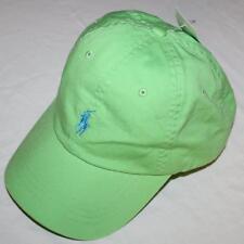 NEW NWT Mens Polo Ralph Lauren Baseball Hat Cap Pony Logo Adjustable Strap *H7