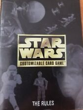 Star Wars CCG The Rules Rulebook Booklet NrMint-Mint Condition