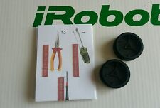 iRobot Mint Braava NEW Drive Wheels Tires Pair w/ Treads 380 320 4200 5200 etc