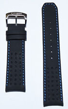 Original Citizen Proximity Black Leather 22mm Band Strap for Watch AT7030-05E