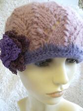 Sorbet Cloche Ladies Hat - Easy Knitting Pattern