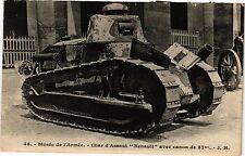 CPA PARIS 7e-Musée de l'Armée-Char d'Assaut (328207)