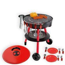 Barbecue Gartengrill Grill für Kinder Kindergrill Spielzeug Grill mit Zubehör