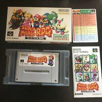 Super Mario RPG Nintendo SFC Super Famicom SNES Japan NTSC-J Game