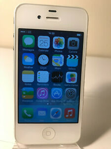 Apple iPhone 4 - 8GB - White (Unlocked) Smartphone Mobile