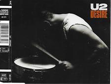 U2 - Desire CD SINGLE 3TR Germany 1988 (Island Records)