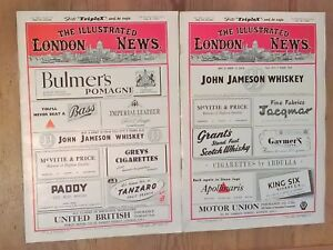 The Illustrated London News July 8th + 15th 1950 No 5803 + 5804