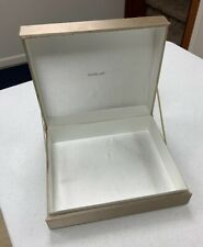 Shalimar By Guerlain Empty Box Only Golden Shiny Good Quality No Insert