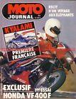 MOTO JOURNAL 597 HONDA VF 400 F YAMAHA YZ 250 SUZUKI GR 650 GP Afrique Sud 1983