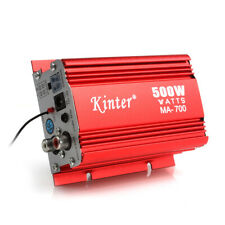 500W 2-Channel Mini Car Audio AMP Amplifier Support USB MP3 FM Input with Remote
