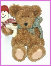 """Boyds Bears Brewster T. Bear #912627 15"""" Stuffed collectible snowman toy"""