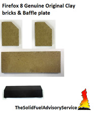 Firefox 8 Bricks And Baffle/Throat Plate Genuine Clay And Not Copies Full set