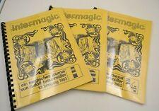 Intermagic, ein magisches Journal von Rudolf Braunmüller, 10. Jhg, komplett