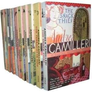 Inspector Montalbano 10 Books Set Collection  by Andrea Camilleri Series 1 NEW