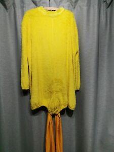 F4 ex hire adults chicken hen tweetie pie bodysuit costume fancy dress cosplay