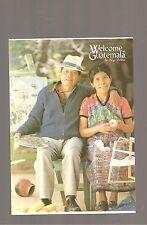 WELCOME TO GUATEMALA POSTCARD #51