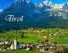 Austria - TIROL - Travel Souvenir Fridge Magnet