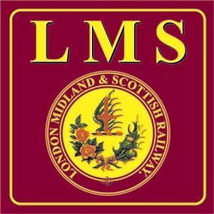 RAILWAY SIGN -  LMS - LONDON MIDLAND & SCOTTISH RAILWAY