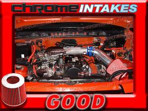 BLUE RED 89-94 GEO TRACKER/SUZUKI SIDEKICK 1.6 1.6L AIR INTAKE KIT
