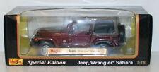 Maisto Jeep Diecast Vehicles