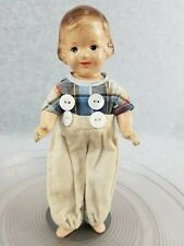 """9"""" antique composition R & B Arranbee doll Patsy type with painted eyes 1930s"""