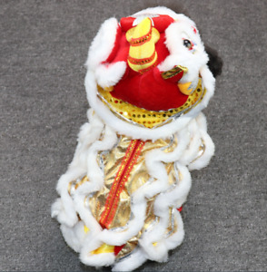 Chinese Lion Dance Dog and cat's clothes Funny lion costume Dogs cosplay