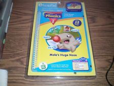 Leap Frog Leap Pad Phonics Lesson 7 Moles Huge Nose NEW in package