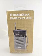 RadioShack AM/FM Pocket Radio 1200586 OLD STOCK
