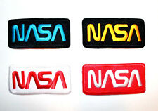 Lot 4 NASA Sign Logo Space Explorer Star Jacket Shirt Embroidered Iron on Patch