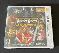 Sealed Nintendo 3DS Angry Birds Star Wars Video Game Brand New