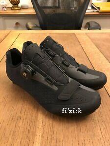Fizik R5b Road Cycling Shoes - Boa Dial, Black/Grey. EU41 / UK7.5