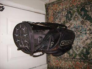 Ogio Silencer Cart Bag 14+1 way top with rain cover black'