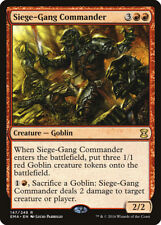 Siege-Gang Commander Eternal Masters NM-M Red Rare MAGIC GATHERING CARD ABUGames