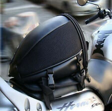 Motorcycle Sport Tail Back Bag Seat Carry Bag Luggage Saddlebag Waterproof Black