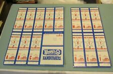 1979 1980 Washington Bullets Basketball 14 Playoff Ticket Lot No Seat Locations