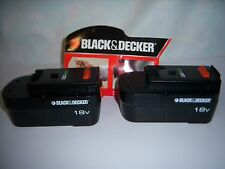 2 HPB18 Black & decker 18v battery for power tools batteries 18VOLT