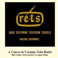 Vintage Radio Electronics Home Study Servicing Course (1947) - CD